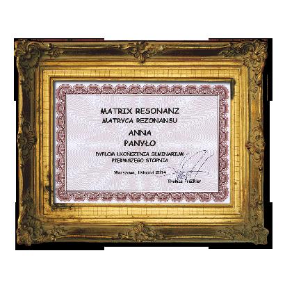 Matrix Resonanz - uzdrawianie metodą dwupunktową st. I